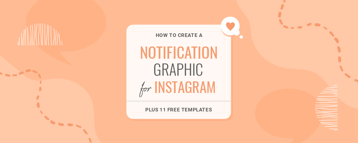 Notification style posts for instagram - how to create