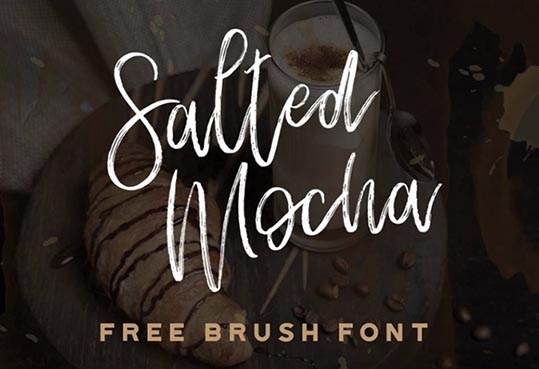 Salted Mocha Free Font - 73 Best Free Fonts to Create Stunning Designs
