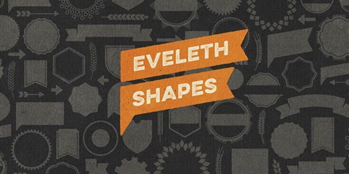 Eveleth Shapes Free Font - 73 Best Free Fonts to Create Stunning Designs