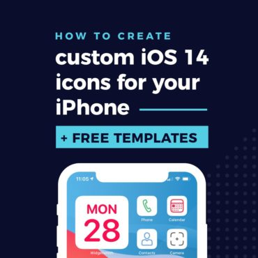 How to create custom iOS 14 app icons