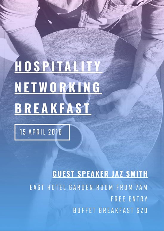 Host a Networking Event - How to Get More Event Bookings at your Venue in 2018 - 21 Easy Tips