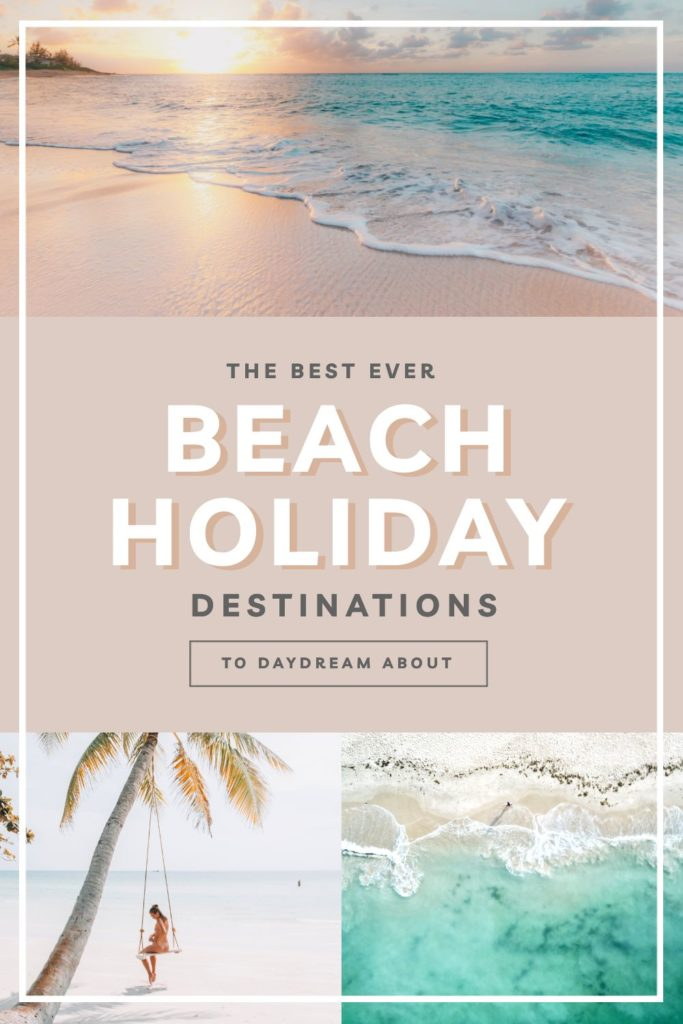 "Beach Holidays Template: Hack Visual Design Series"": Pinterest Templates 10 Ways"