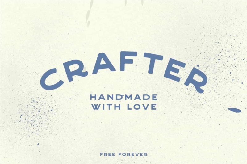Crafter Font - 93 Best Free Fonts to Create Stunning Designs
