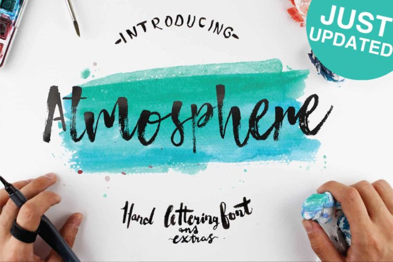 Atmosphere Free Font - 93 Best Free Fonts to Create Stunning Designs