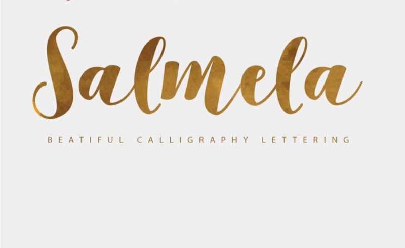 Salmela Free Font - 93 Best Free Fonts to Create Stunning Designs