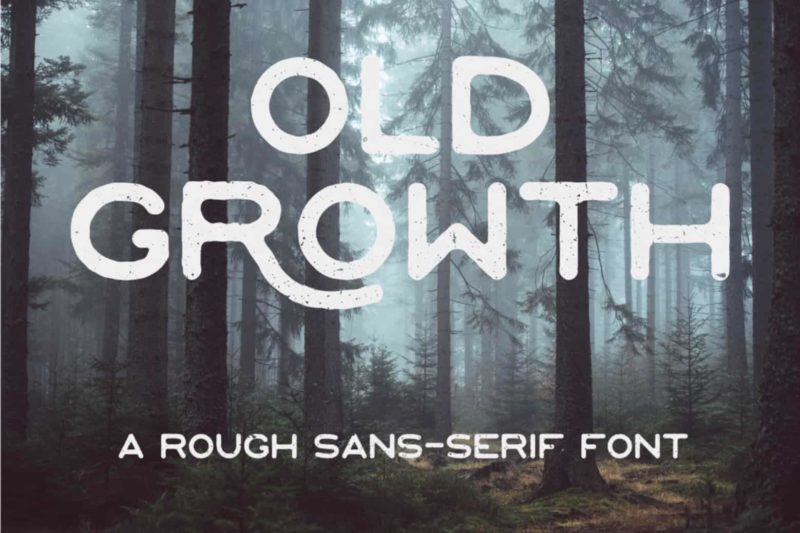 Old Growth Sans-Serif Font - Mindfully Font - 93 Best Free Fonts to Create Stunning Designs