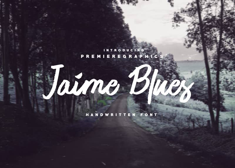 Jaime Blues Font - 93 Best Free Fonts to Create Stunning Designs