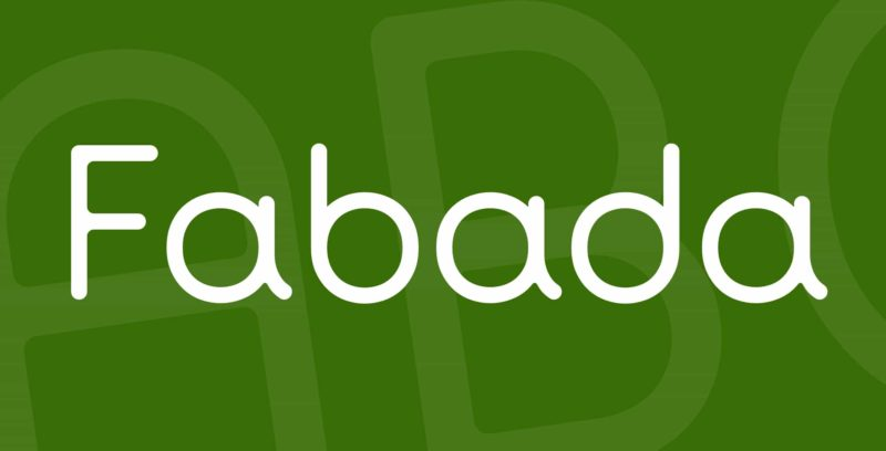 Fabada Free Font - 93 Best Free Fonts to Create Stunning Designs