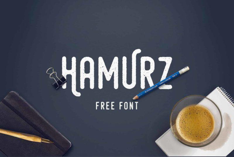 Hamurz Free Font - 93 Best Free Fonts to Create Stunning Designs