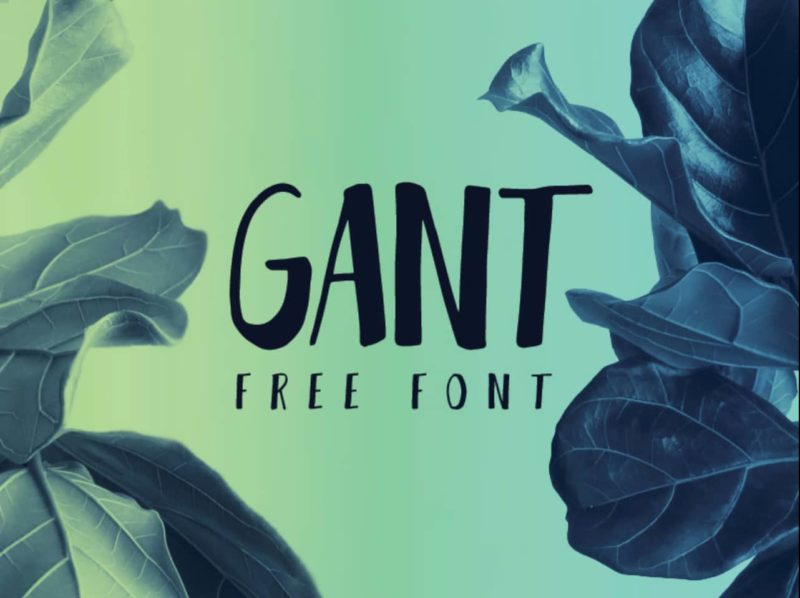Gant Free Font - 93 Best Free Fonts to Create Stunning Designs
