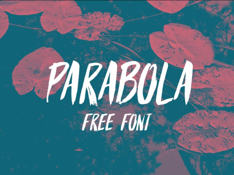 Parabola Free Font - 93 Best Free Fonts to Create Stunning Designs