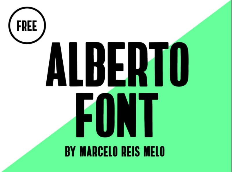 Alberto Free Font - 93 Best Free Fonts to Create Stunning Designs