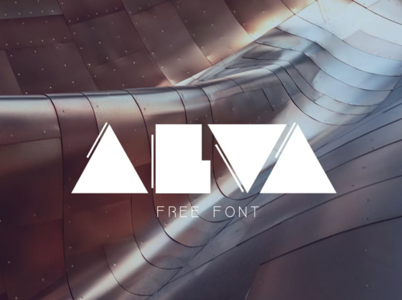 93 Best Free Fonts to Create Stunning Designs - Alva Free Font