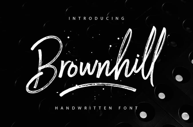 Brownhill Free Font - 93 Best Free Fonts to Create Stunning Designs