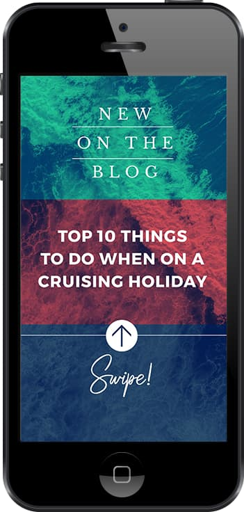 Stunning free Instagram Story template to announce your new blog article - featuring tri colored areas