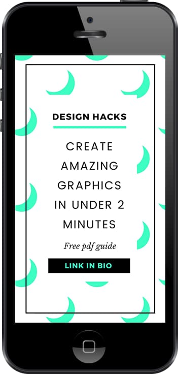 Free Instagram stories template to promote your blog