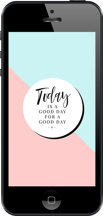 Free Instagram Story Template - Gorgeous motivational Quote layout