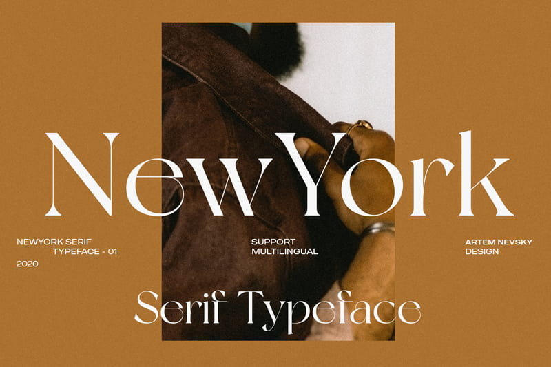 New York Font - 93 Best Free Fonts to Create Stunning Designs