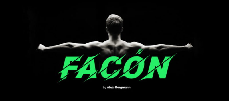 Facon Font - 93 Best Free Fonts to Create Stunning Designs