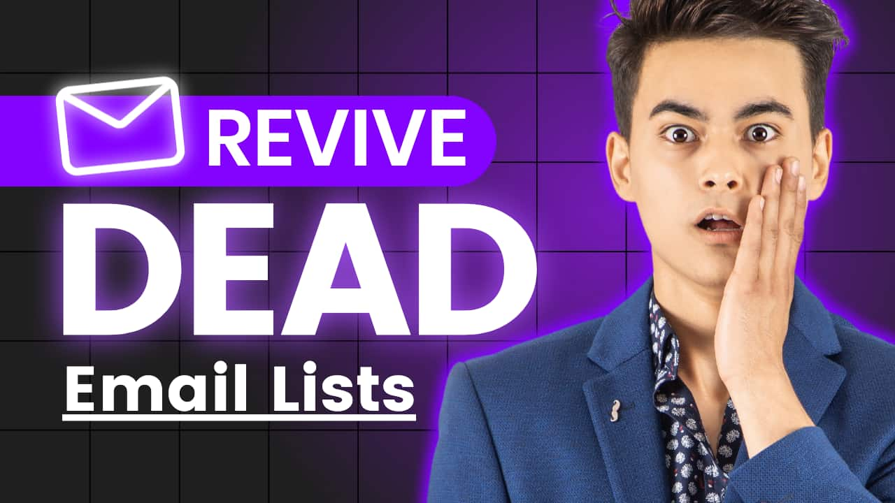 Easil Free YouTube Thumbnail Template - Revive Dead Email Lists